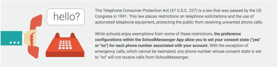 SchoolMessenger And The TCPA